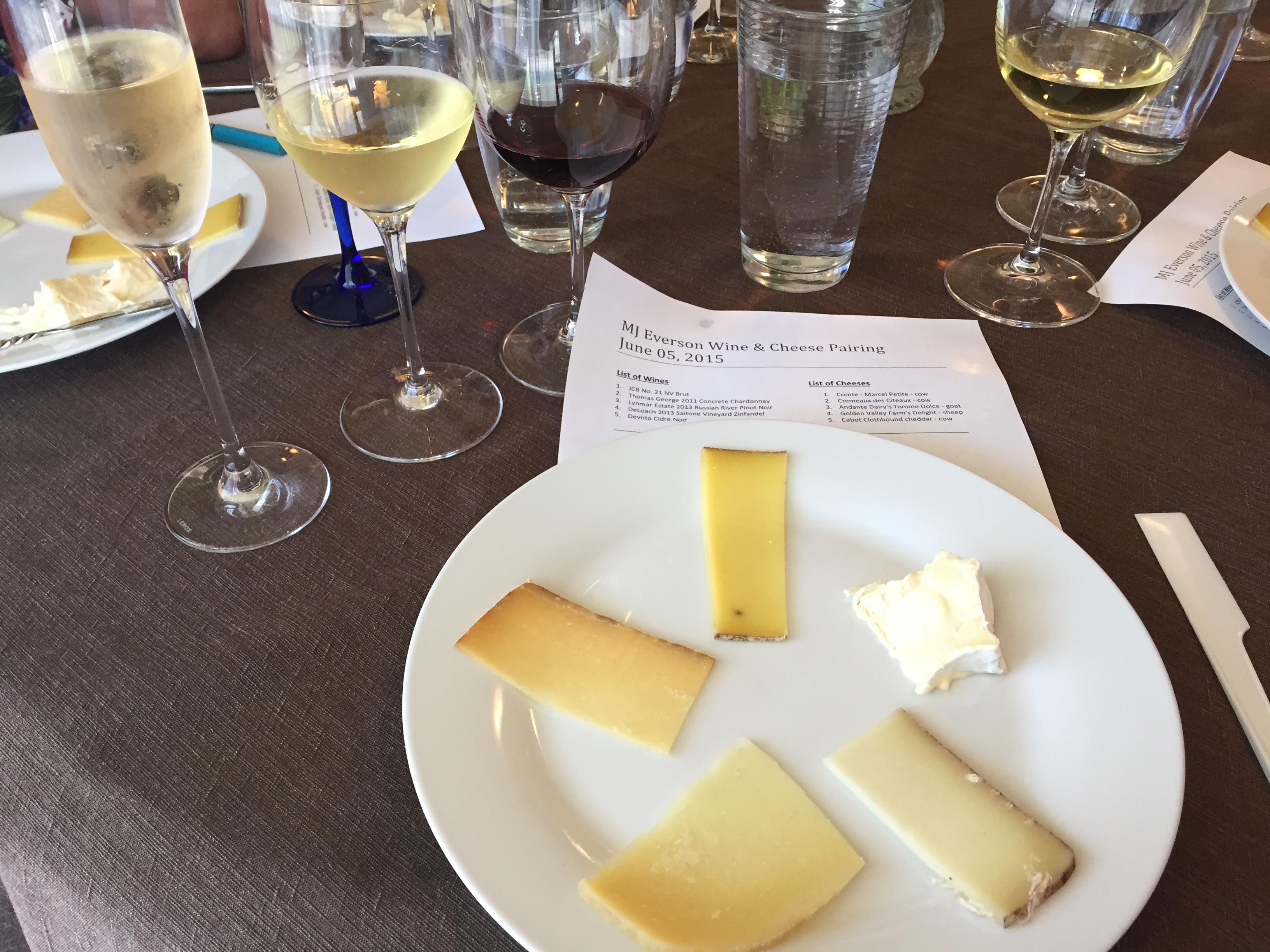 Cheese pairing 3